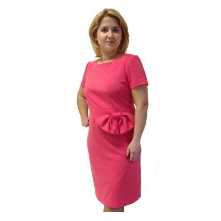 Купить Платье Klimini «Ангелина». Цвет: коралловый