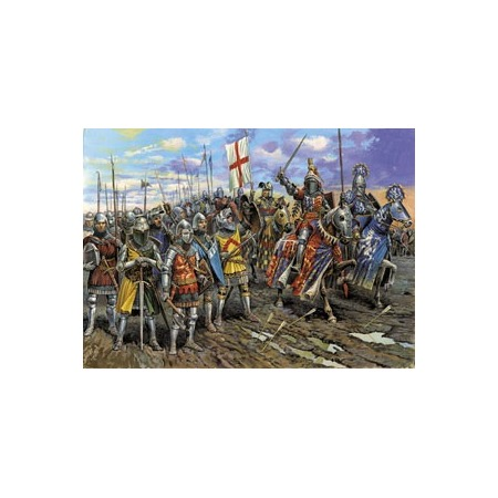 Купить Миниатюра Звезда Английские рыцари 100-летней войны