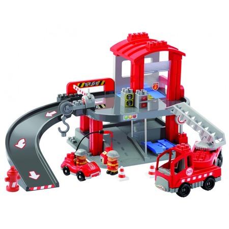 Купить Конструктор Ecoiffier «Пожарная Станция»