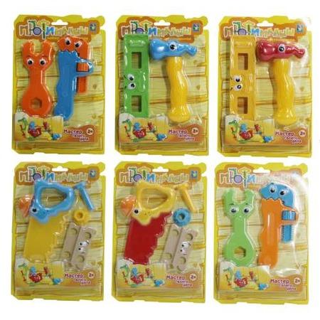 Купить Набор инструментов столярных 1 Toy «Малыш-Профи». В ассортименте