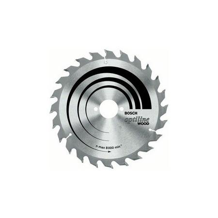 Купить Диск отрезной для ручных циркулярных пил Bosch Optiline Wood 2608641185