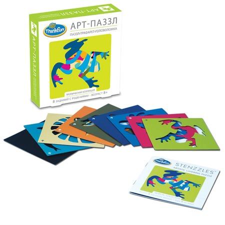 Купить Игра-головоломка Thinkfun «Арт-Паззл Тропическая коллекция»