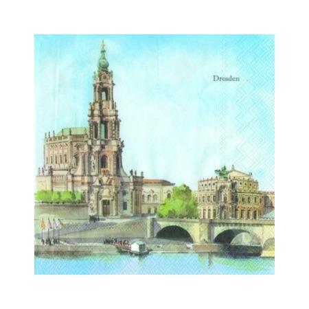Купить Салфетки бумажные для декупажа IHR «Дрезден»
