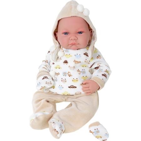 Купить Кукла Munecas Antonio Juan «Нико в бежевом»