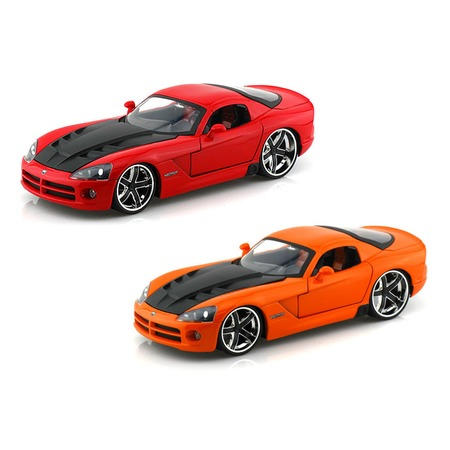 Купить Модель автомобиля 1:24 Jada Toys Dodge Viper SRT/10 - Ribbon 5 2008. В ассортименте