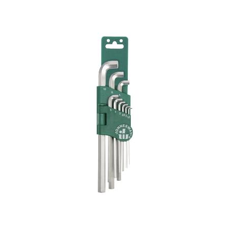 Купить Набор ключей торцевых шестигранных укороченных Jonnesway H03SS109S
