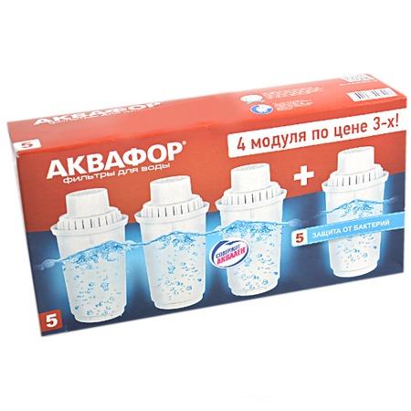 Купить Набор картриджей к фильтрам для воды Аквафор B100-5, 4 шт