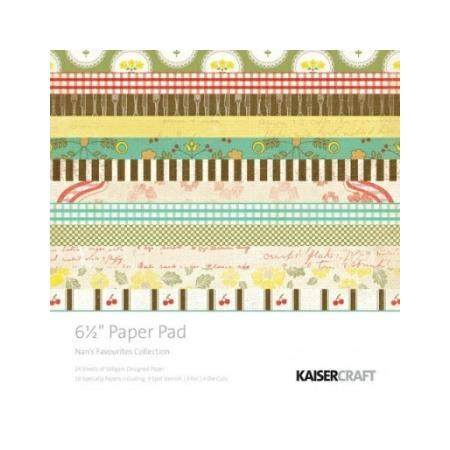 Купить Набор бумаги для скрапбукинга Kaisercraft Nans Favourites