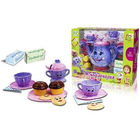 Купить Сервиз чайный игрушечный S+S Toys СС75466
