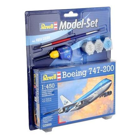 Купить Сборная модель пассажирского самолета Revell Boeing 747-200