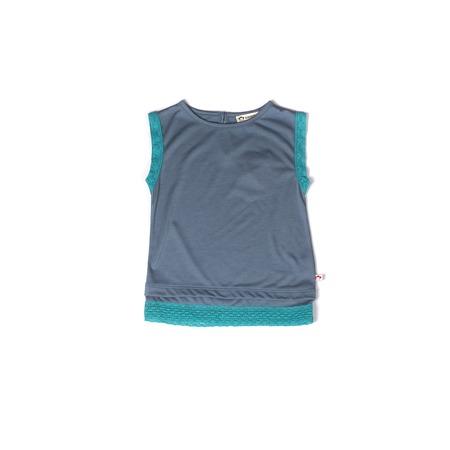 Купить Туника детская для девочки Appaman Tribeca Tank. Цвет: голубой