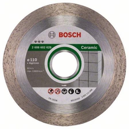 Купить Диск отрезной алмазный для угловых шлифмашин Bosch Best for Ceramic