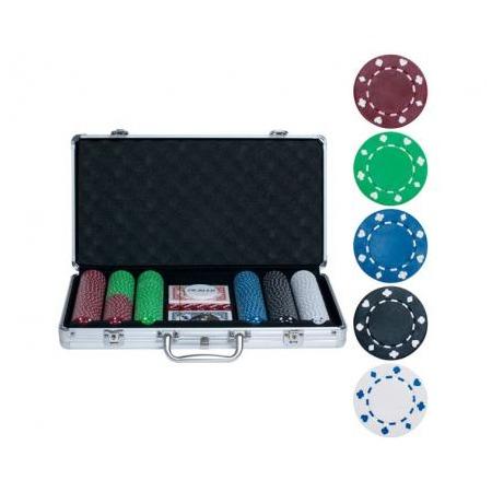 Купить Набор для покера Ningbo без номинала, 300 фишек