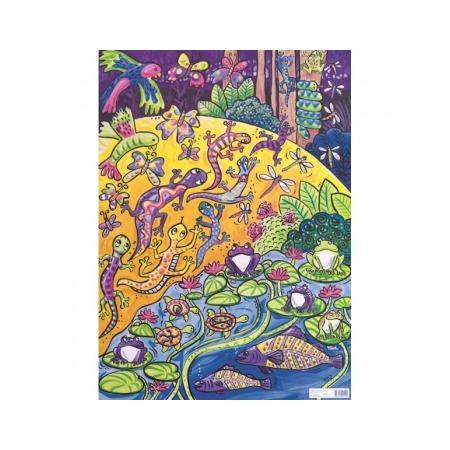 Купить Бумага для декупажа Finmark Decoupage «Ящерицы и лягушки»