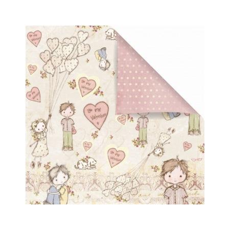 Купить Бумага для скрапбукинга двусторонняя Prima Marketing Sweet Valentine
