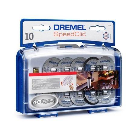 Купить Набор из дисков отрезных и держателя Dremel SC690