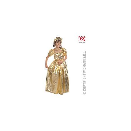 Купить Принцесса золотая, рост 128