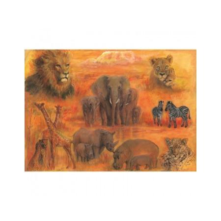 Купить Бумага для декупажа Finmark Decoupage «Африка»