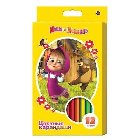Купить Набор цветных карандашей Маша и Медведь 14223
