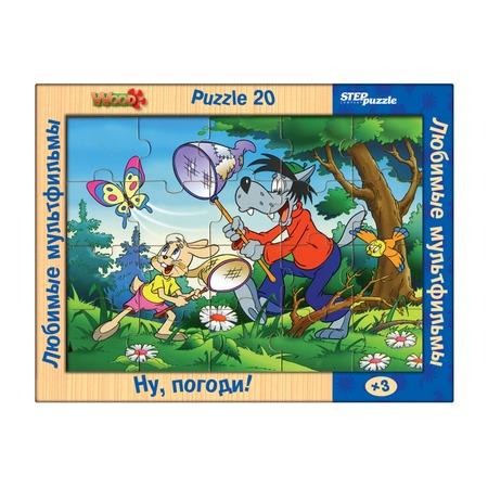 Купить Пазл 12 элементов Step Puzzle «Любимые мультфильмы. Ну, погоди!»