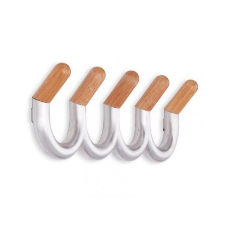 Купить Вешалка настенная с 5-ю крючками Umbra U-turn