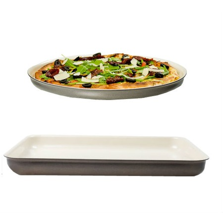 Фото Набор посуды Delimano: противень Prima+ Flat Tray и противень для пиццы Pizza Tray