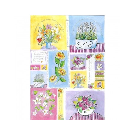 Купить Бумага для декупажа Finmark Decoupage «Цветы в знак дружбы»