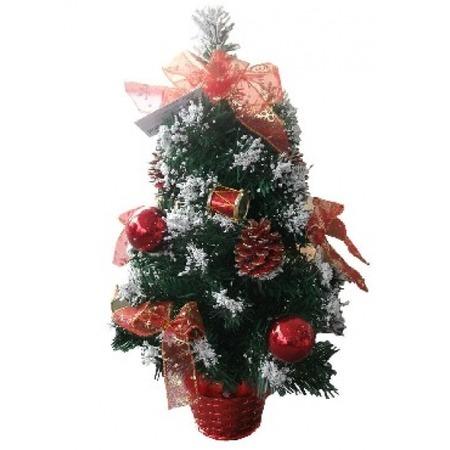 Купить Ель декоративная «Красные шишки». Высота: 50 см