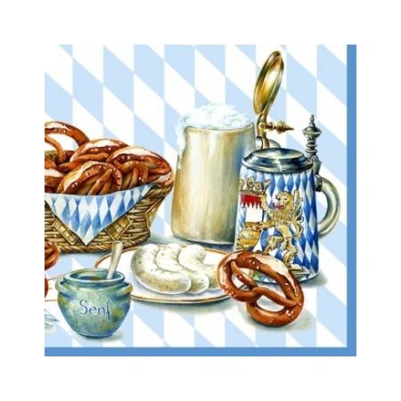 Купить Салфетки бумажные для декупажа IHR «Баварский хлеб»