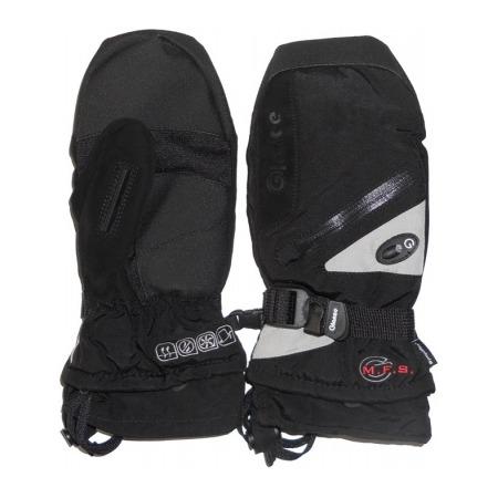 Купить Варежки GLANCE Fighter Mitten (2012-13). Цвет: черный, серый