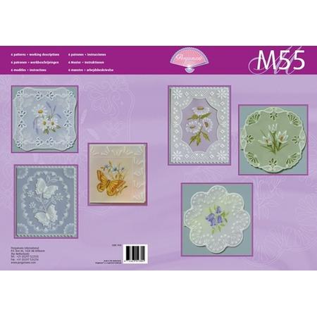 Купить Набор схем для парчмента Pergamano M55 Натуральная красота