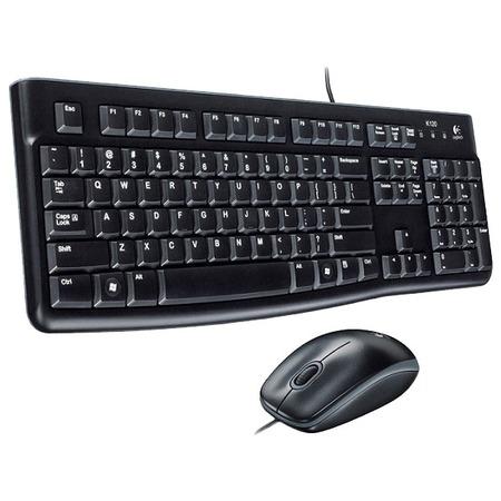 Купить Клавиатура с мышью Logitech Desktop MK120