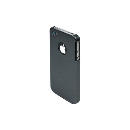 Купить Чехол Muvit Grey Rubber Metal Back Cover для iPhone 4S