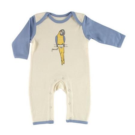 Купить Комбинезон Hudson Baby без следков. Цвет: голубой