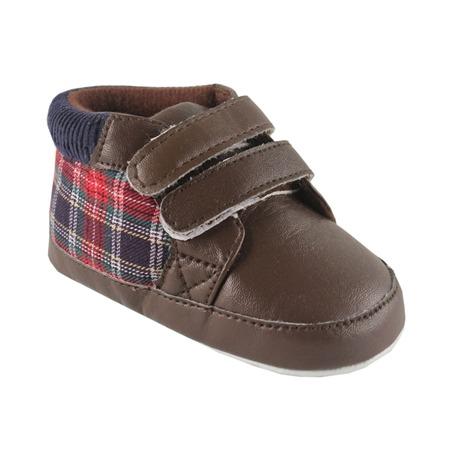 Купить Ботинки Luvable Friends «Шотландка»
