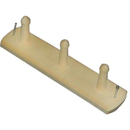 Купить Вешалка для бани Банные штучки 3-х рожковая