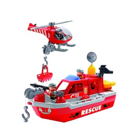 Купить Конструктор Ecoiffier «Спасательный катер»