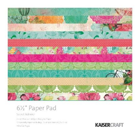 Купить Набор бумаги для скрапбукинга с вырубками Kaisercraft Secret Admirer