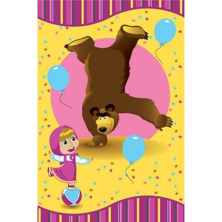 Купить Плед Непоседа «Маша и Медведь». В ассортименте