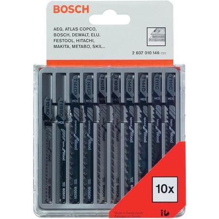 Купить Набор пилок для лобзика Bosch 2607010146