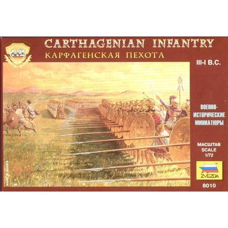 Купить Миниатюра Звезда «Карфагенская пехота»