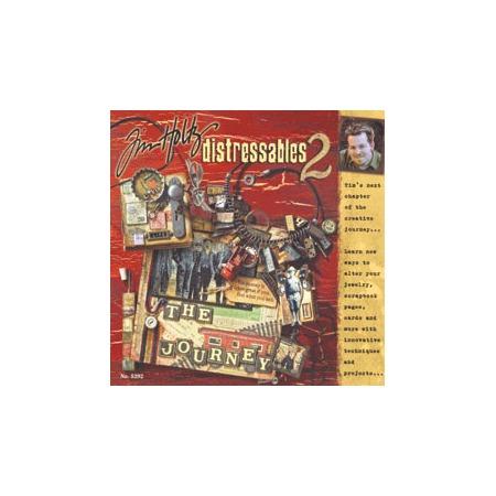 """Купить Книга по скрапбукингу Ranger Industries «Tim Holtz """"Distressables II»"""