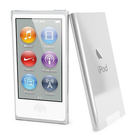 Купить Чехол и пленка на экран Muvit Clear Back для iPod Nano 7G