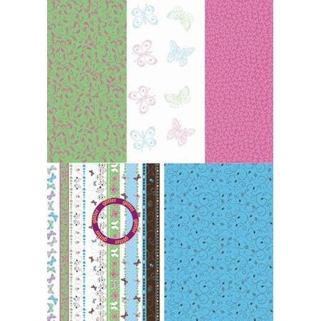 Купить Набор бумаги для парчмента Pergamano Бабочки