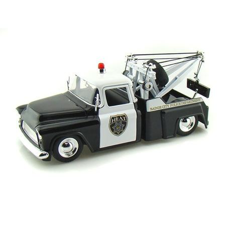 Купить Модель автомобиля 1:24 Jada Toys Chevy Step Side Tow Truck Police 1955