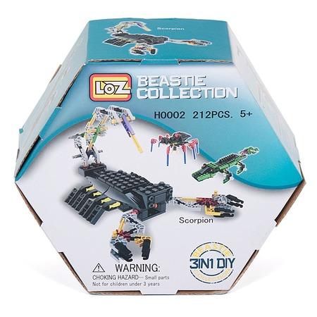 Купить Конструктор - игровой набор Loz «Крокодил, Паук, Скорпион»