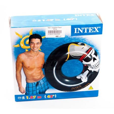 Купить Круг надувной с ручками Intex «Пират»