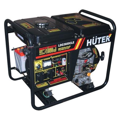 Купить Электрогенератор Huter LDG3600CLE