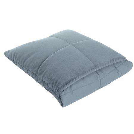 Фото Подушка-одеяло Dormeo Flip. Цвет: синий