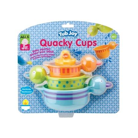 Купить Набор для ванны ALEX «Чашки-уточки»
